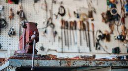 outils atelier, rangement outil, meuble atelier garage